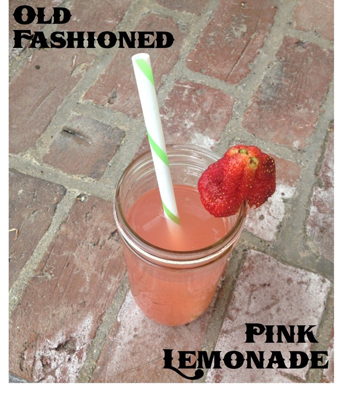 Old Fashioned Pink Lemonade | PeachyPains.com