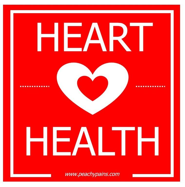 PeachyPains.com | Blog| Heart Health