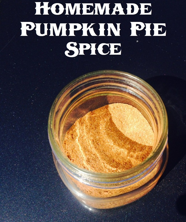 homemadepumpkinpiespice