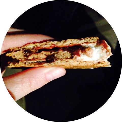PeachyPains.com | Recipe: Peanut Butter Smores