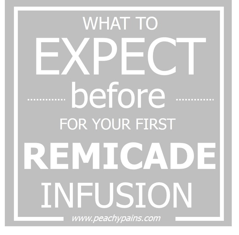 PeachyPains.com | what to expect BEFORE your first Remicade Infusion